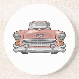 Chevrolet-Bel Air 1955 Sandstein Untersetzer