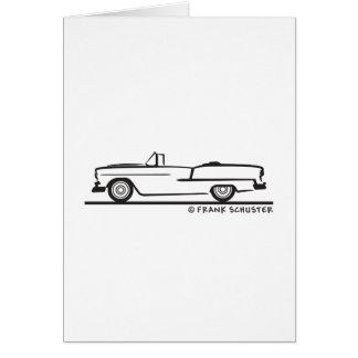 Chevrolet-Kabriolett 1955 Karte