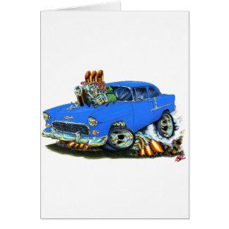 Chevy 150-210 blaues Auto 1955 Karte