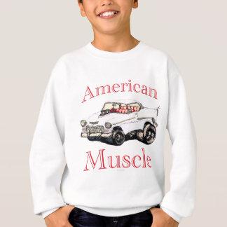 chevy amerikanischer Muskel 55 Sweatshirt