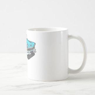 Chevy Bel Air - Blau Kaffeetasse
