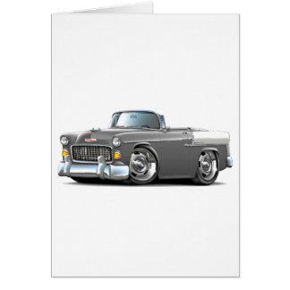 Chevy Belair Grau-Weißes Kabriolett 1955 Karte