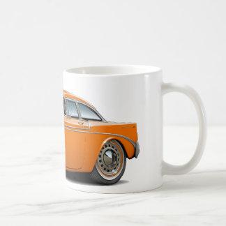 Chevy Belair Orangen-Auto 1956 Kaffeetasse