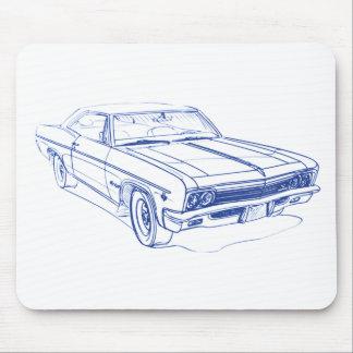 Chevy Impala 1969 Mauspad