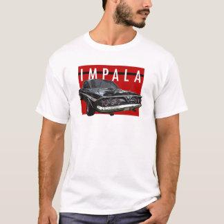 Chevy Impala-Blasen-oberste hintere Ansicht 1961 T-Shirt
