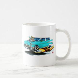 Chevy Nomade-Türkis-Auto 1957 Kaffeetasse