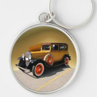 Chevy spezielles ~ keychain silberfarbener runder schlüsselanhänger