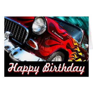 Chevy V6 frisiertes Auto 1955 Karte