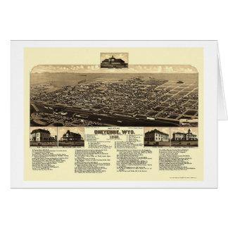 Cheyenne, WY panoramische Karte - 1882