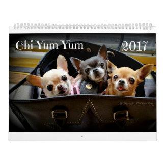 Chi-Yum Yum Kalender 2017