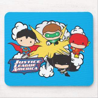 Chibi Gerechtigkeits-Liga von Amerika-Explosion Mousepads