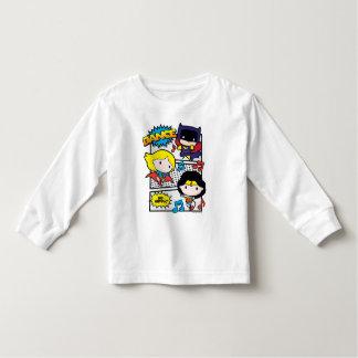 Chibi Held-Tanzen Kleinkind T-shirt