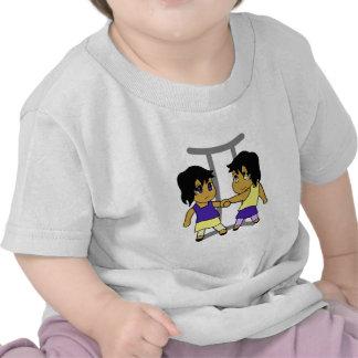 chibi jumeau de Gémeaux T-shirts