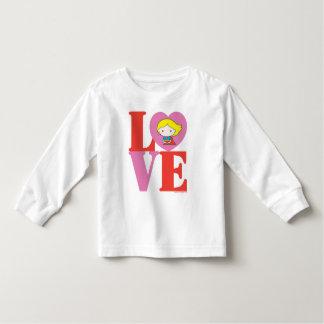 Chibi Supergirl LIEBE Kleinkind T-shirt