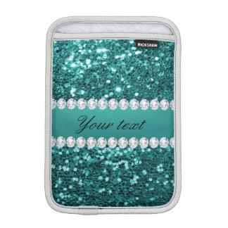 Chic-aquamariner Imitat-Glitter und Diamanten Sleeve Für iPad Mini