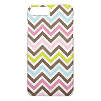 Chic-aztekische Farben - Zickzack Zickzack-Muster iPhone 8 Plus/7 Plus Hülle