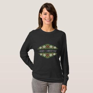 Chic-BlumenweihnachtsRosen, Hellebores, T-Shirt