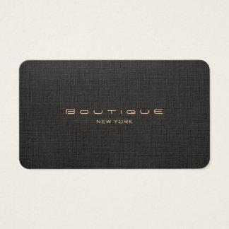 Chic-Butike-Imitat-schwarzes berufliches Visitenkarte