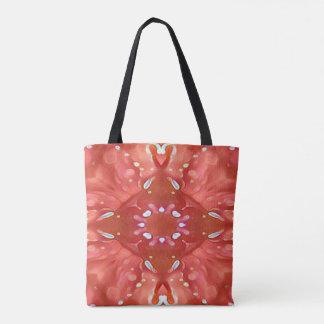 Chic-Schatten von rosa Pfirsich-künstlerischem Tasche