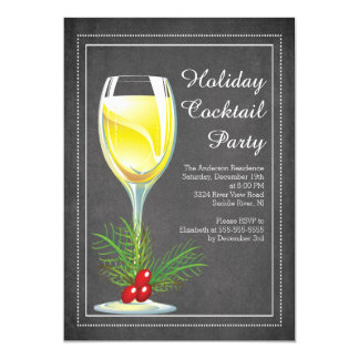 Chic-Tafel-Feiertags-Cocktail-Party Einladung