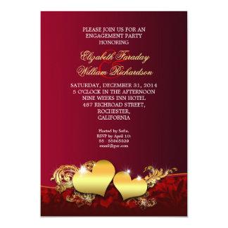 Chic-Verlobungs-Party Einladung