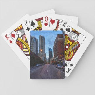 Chicago-Abends-Antrieb Spielkarten