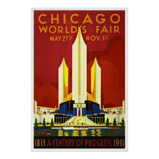 Chicago - affiches vintages de voyage