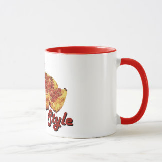 Chicago-Art-Pizza-Tasse Tasse