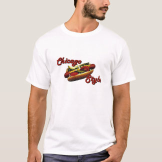 Chicago-Art-Würstchen T-Shirt