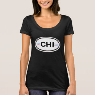 Chicago-CHI Euro-Oval T-Shirt