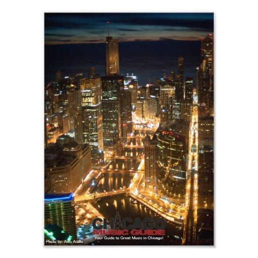 Chicago-Entwurf #10 Photodruck