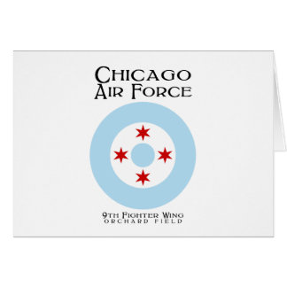 Chicago-Luftwaffe - 9. Kämpfer-Flügel Karte
