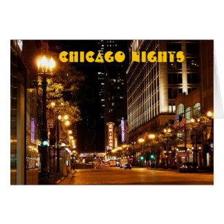 Chicago-Nachtleben Karte