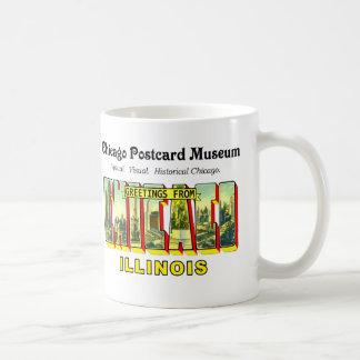 Chicago-Postkarten-Museum Kaffeetasse