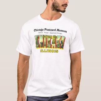 Chicago-Postkarten-Museum T-Shirt
