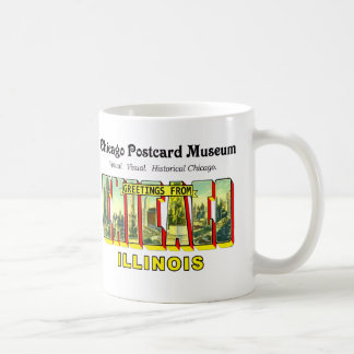 Chicago-Postkarten-Museum Tasse