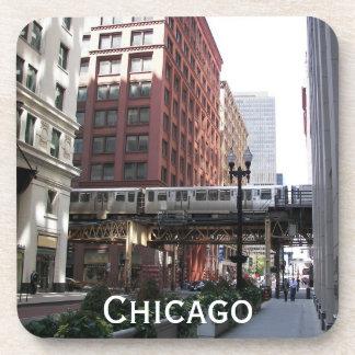 Chicago-Reise-Foto Getränkeuntersetzer