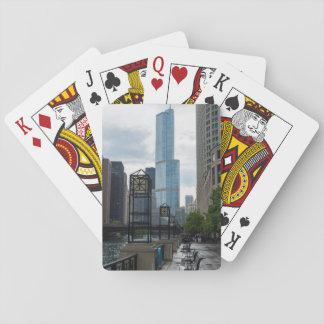 Chicago River Weg Spielkarten