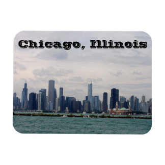 Chicago-Skyline Magnet