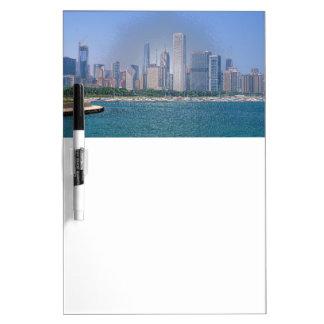 Chicago-Skyline Memoboard
