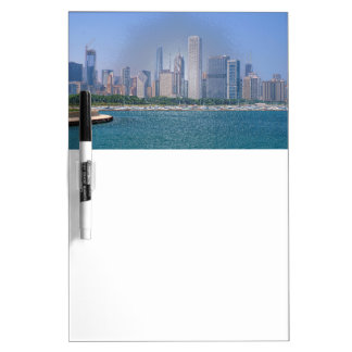 Chicago-Skyline Trockenlöschtafel