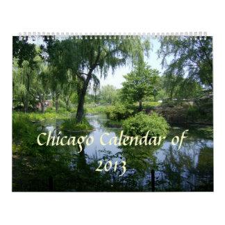 Chicago- und Michigansee-Kalender Abreißkalender