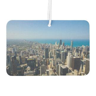 Chicago von oben lufterfrischer
