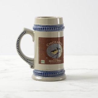 Chickadee-Birken-Bier Bierglas
