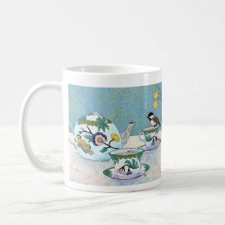 Chickadee zum Tee Kaffeetasse