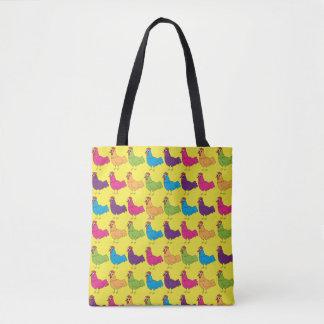 ChickinBoots bunte Huhn-Taschen-Tasche Tasche