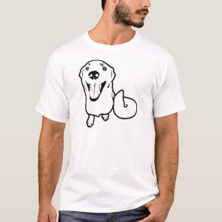 Chien espiègle t-shirt