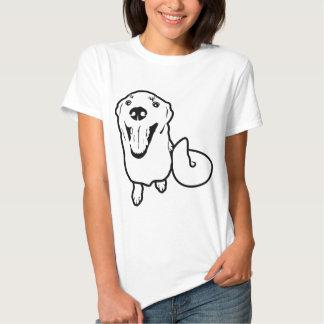 Chien espiègle tee-shirt