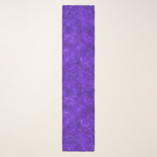 Chiffon- Schal der violetten Galaxie
