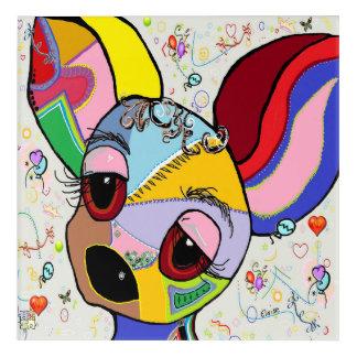 Chihuahua Acryldruck